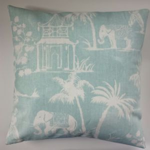"Cushion Cover in Clarke and Clarke Indian Elephant 14"" 16"" 18"" 20"""